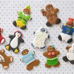 ginger bread christmas cookies