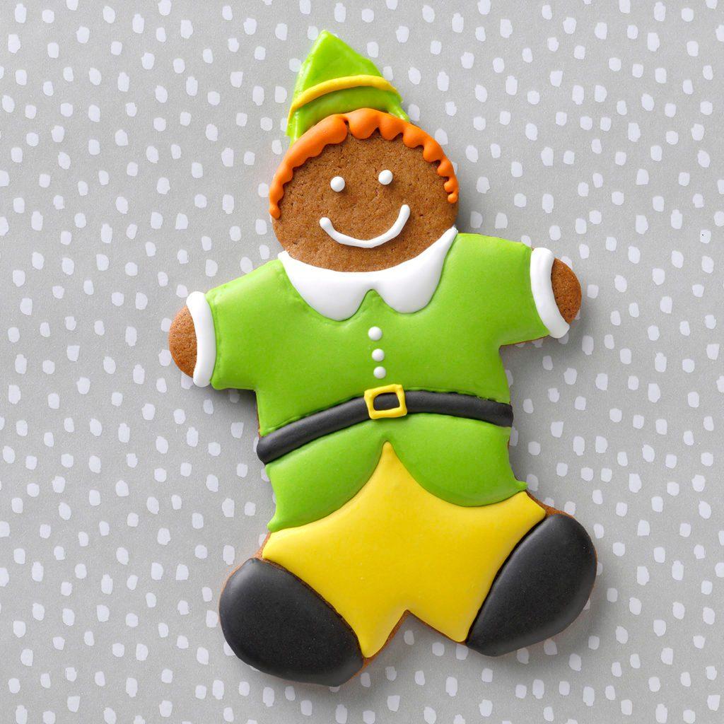 jolly elf cookie