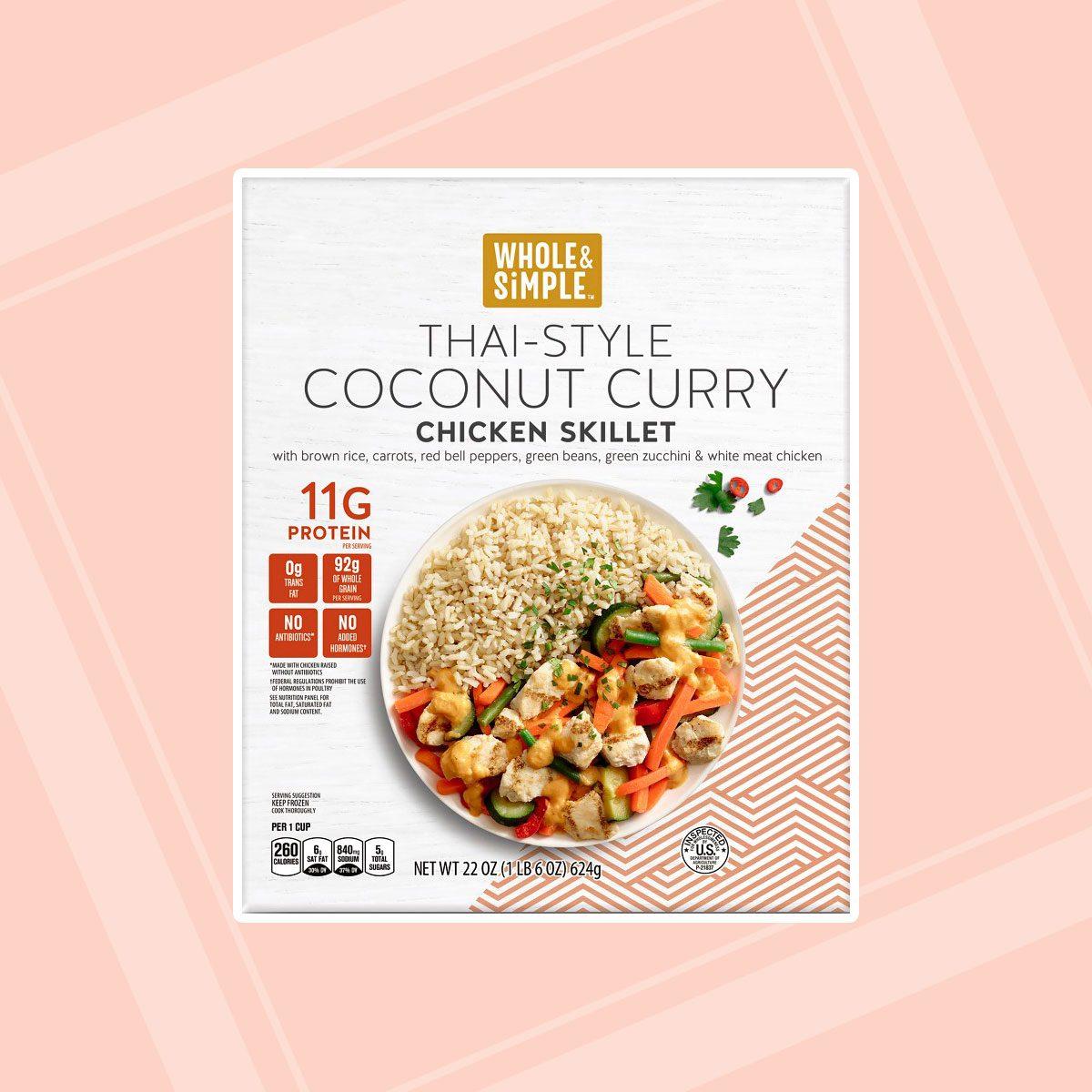 Thai Coconut or Sesame Chicken Skillet