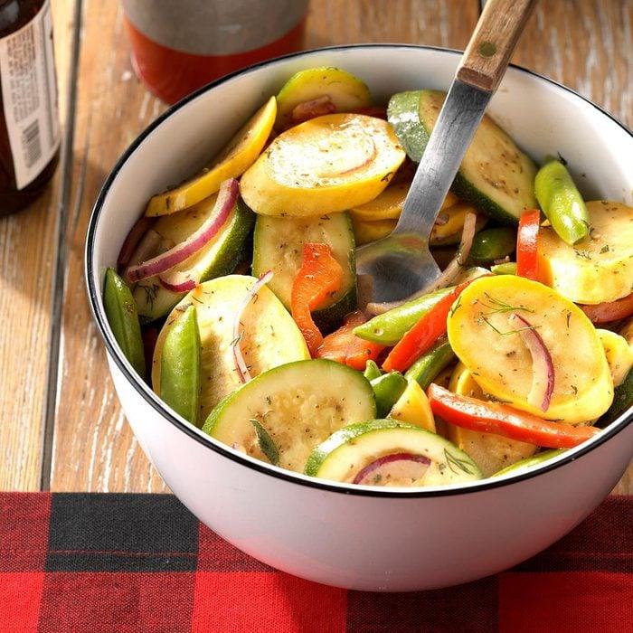 Summer Squash and Zucchini Salad