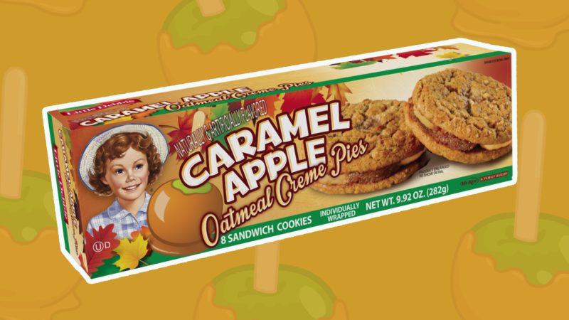caramel apple oatmeal creme pies