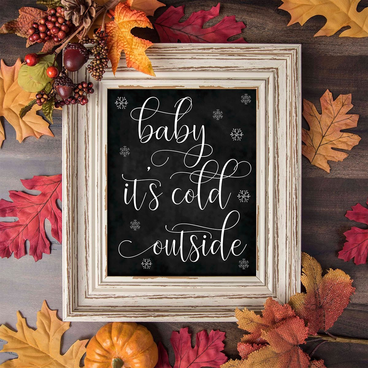 Baby It's Cold Outside Print, Hot Chocolate Bar Sign, Baby It's Cold Outside Sign, Hot Chocolate Bar, Hot Cocoa Party