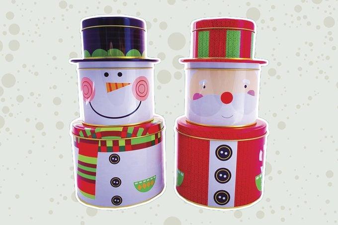 character tins christmas holidays