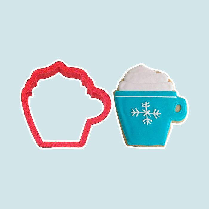 Hot Cocoa Cup cutters