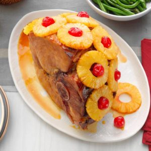 Watch Us Make: <br>Baked Ham with Pineapple