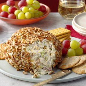 Watch Us Make: Pineapple Pecan Cheese Ball