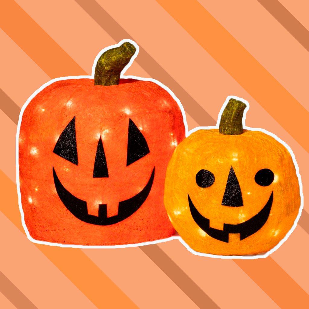 light up pumpkins