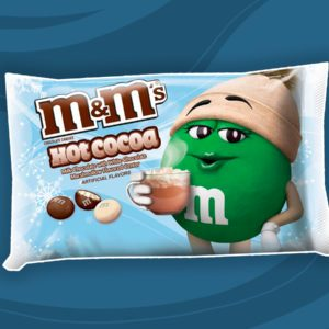 Cozy Hot Cocoa M&M's Are BACK for the Jolly Season