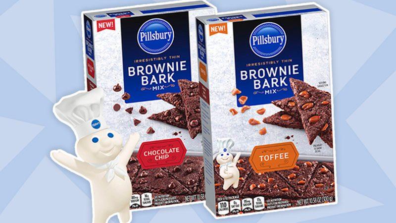pillsbury brownie bark