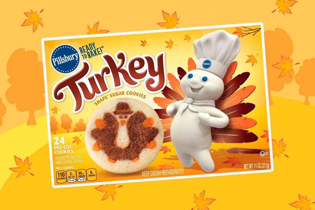 pillsbury turkey sugar cookies