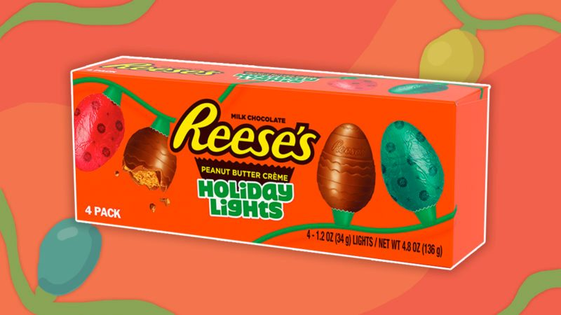 Reese's New Holiday Light Shapes