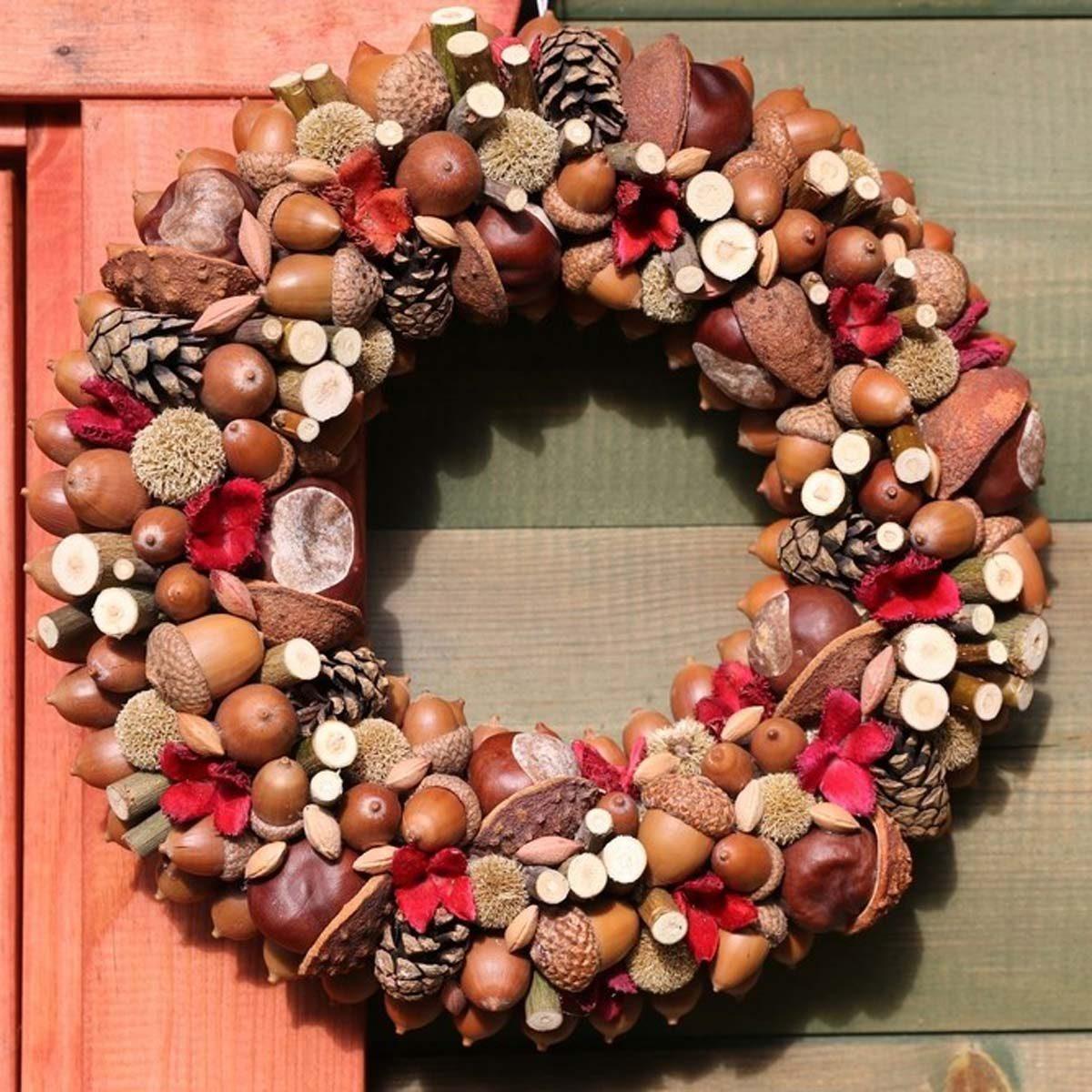 shutterstock_493763137_01 natural fall wreath