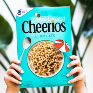 Toasted Coconut Cheerios Will Bring the Tropics to Your Breakfast Table