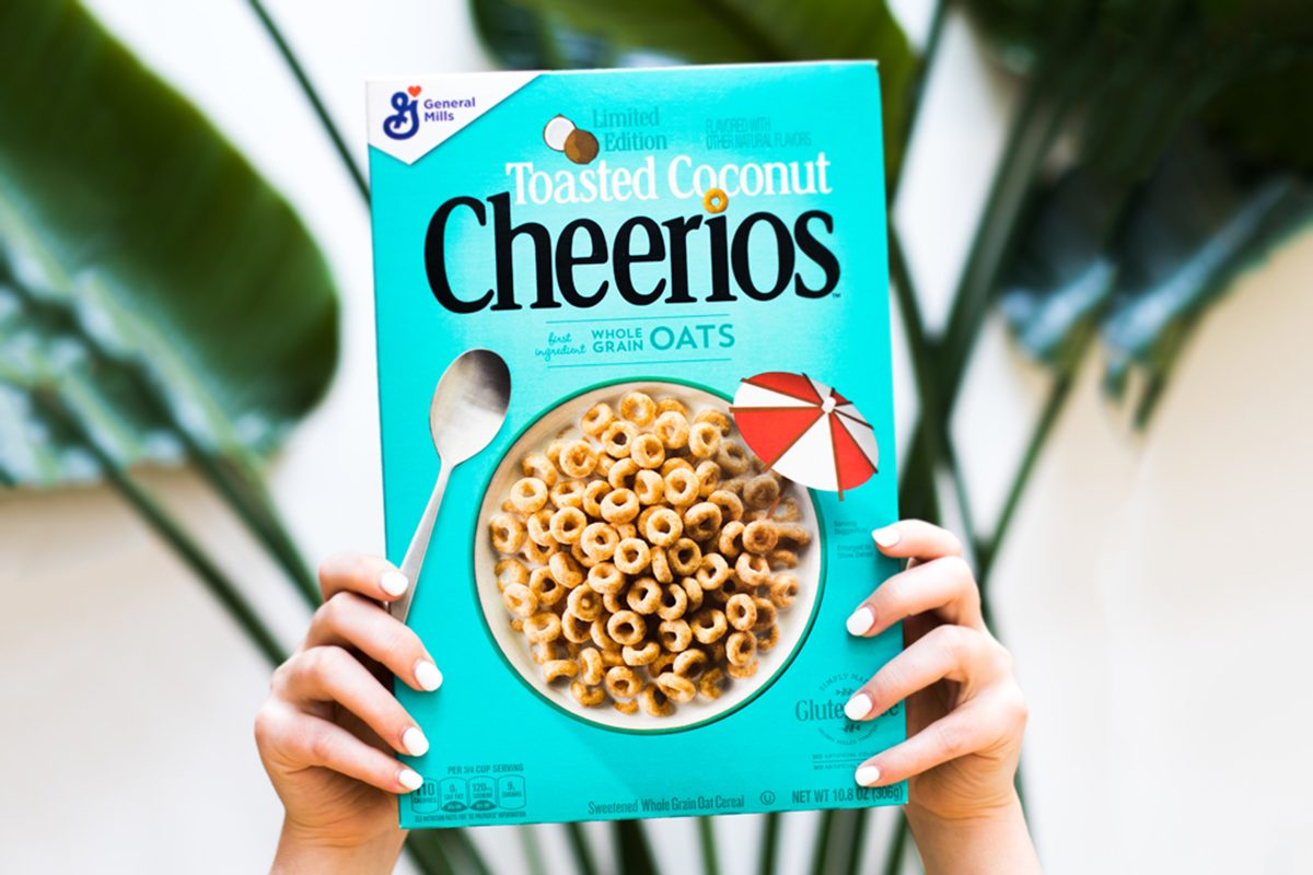 toasted coconut cheerios