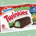 Mint Chocolate Twinkies Are Here for the Holidays