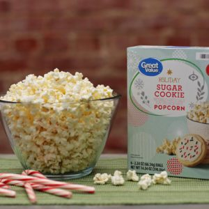 Walmart's Brand-New Sugar Cookie Popcorn Is Just Right for Watching Christmas Movies