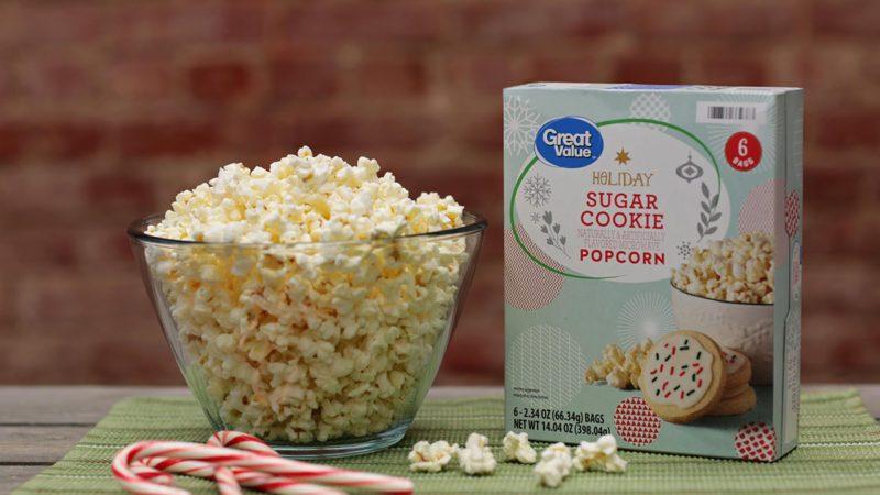 Sugar Cookie Popcorn at walmart