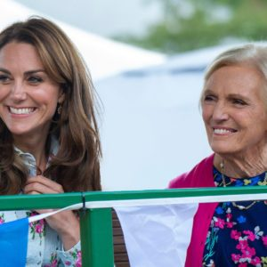Mary Berry and Kate Middleton May Be Hosting a Holiday Cooking Special Together