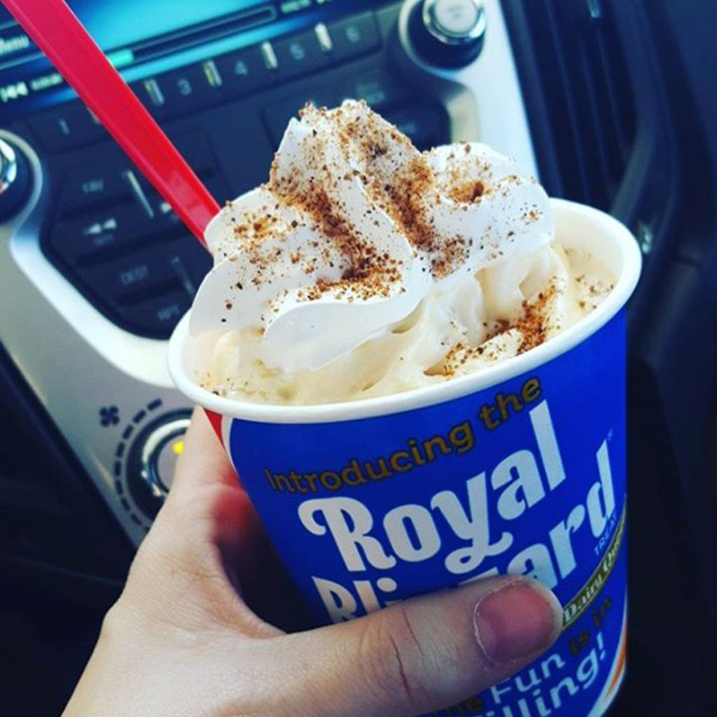 pumpkin pie blizzard dairy queen