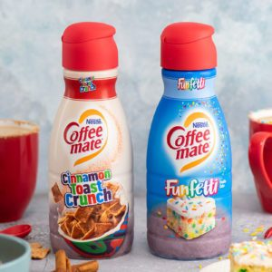 Cinnamon Toast Crunch and Funfetti Coffee Creamers Are FINALLY Here!