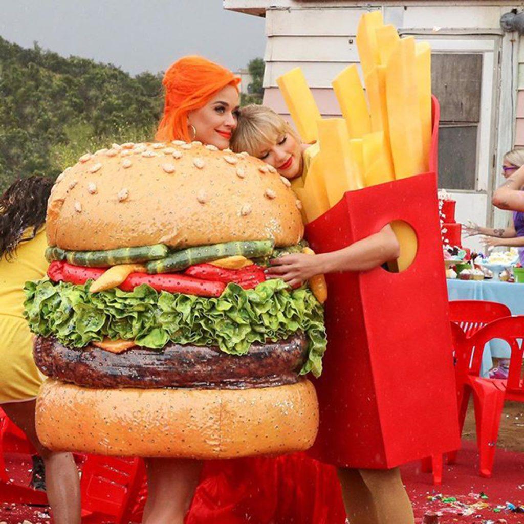 katyperry hamburger