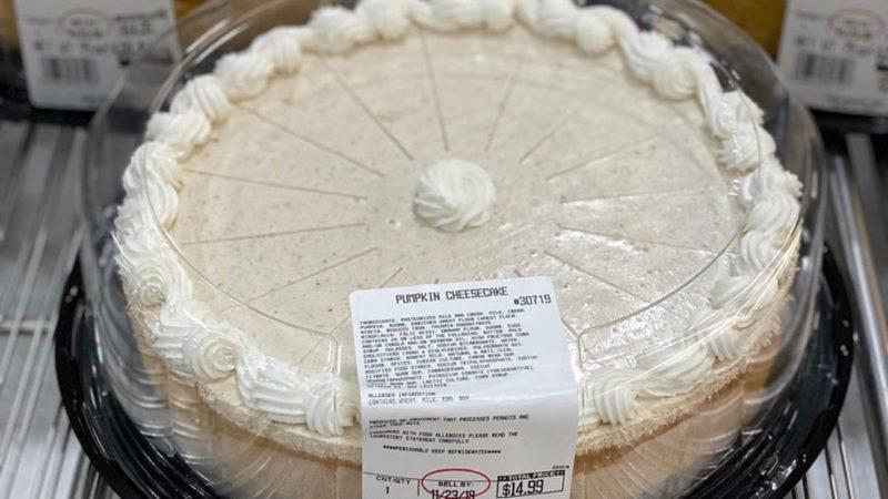 costco pumpkin cheesecake