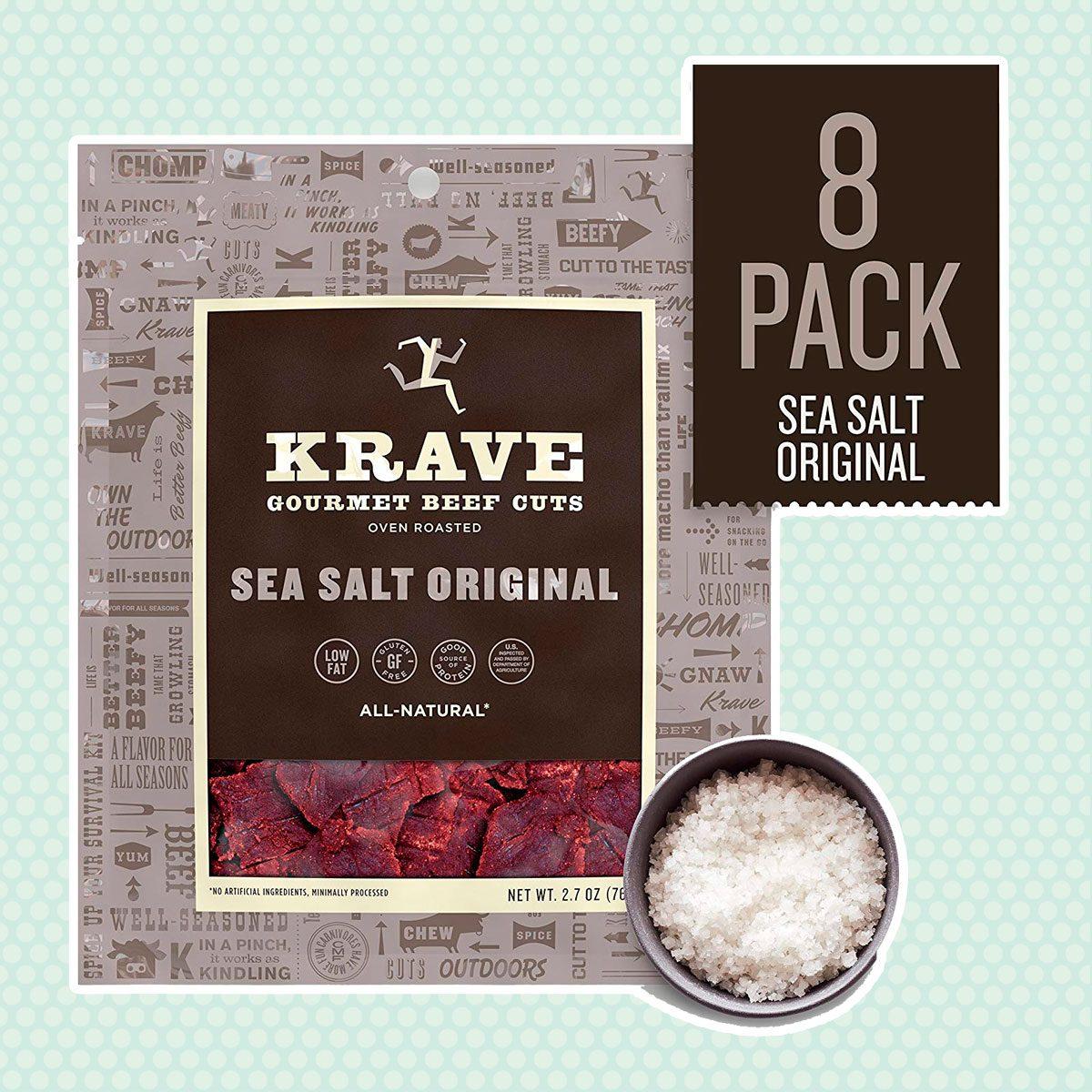 KRAVE'S Gourmet Beef Cuts, 8 packs