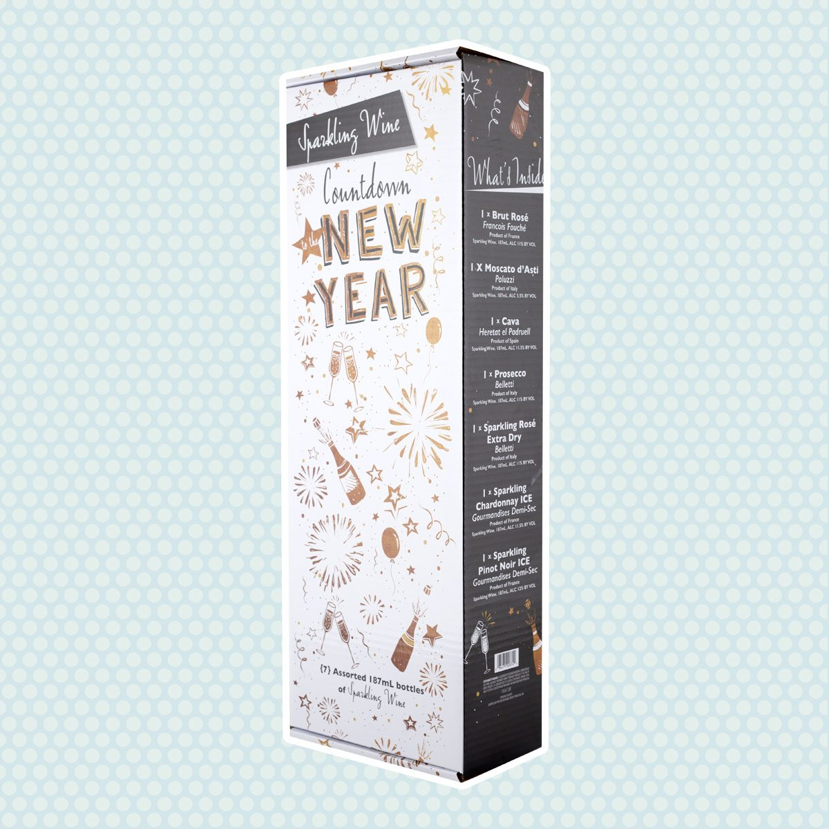 Sparkling Wine Countdown to the New Year