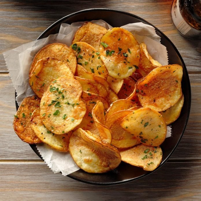 Air-Fryer Potato Chips