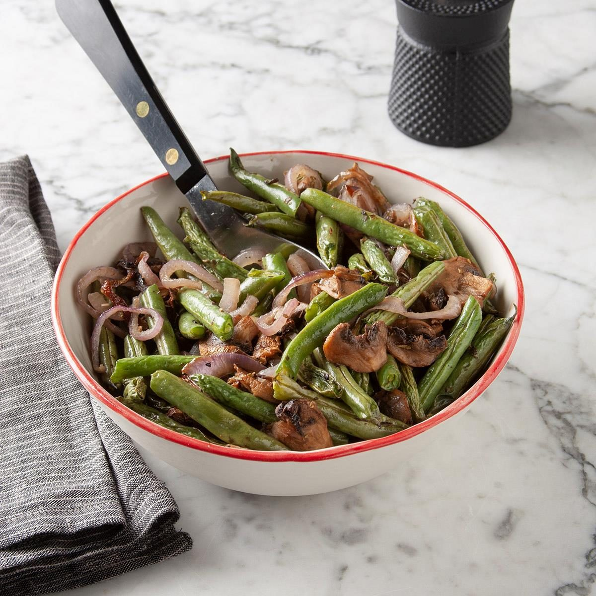 Air-Fryer Roasted Green Beans