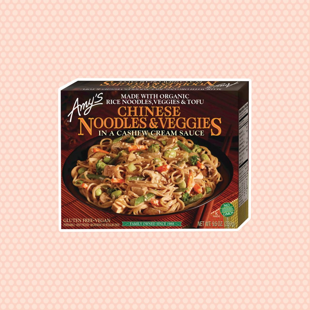 Amy's Chinese Noodles with Frozen Veggies in a Cashew Cream Sauce - 10oz