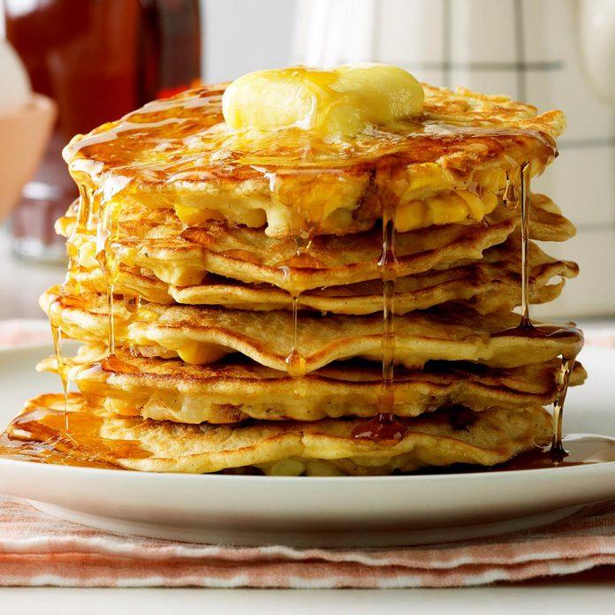 Bacon Corn Pancakes