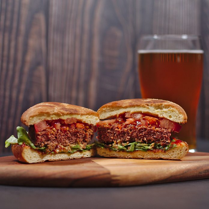 Beyond Meat Burgers plant-based meat brands