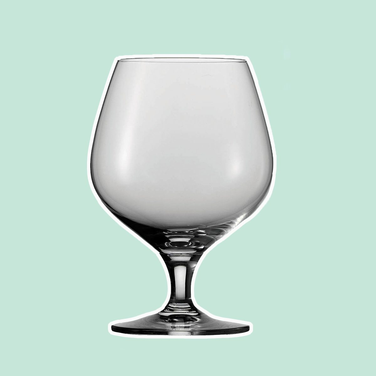 Schott Zwiesel Tritan Crystal Glass Mondial Stemware Collection Brandy Snifter Cocktail Glass, 17.3-Ounce, Set of 6
