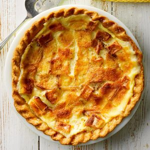 Bread Pudding Pie