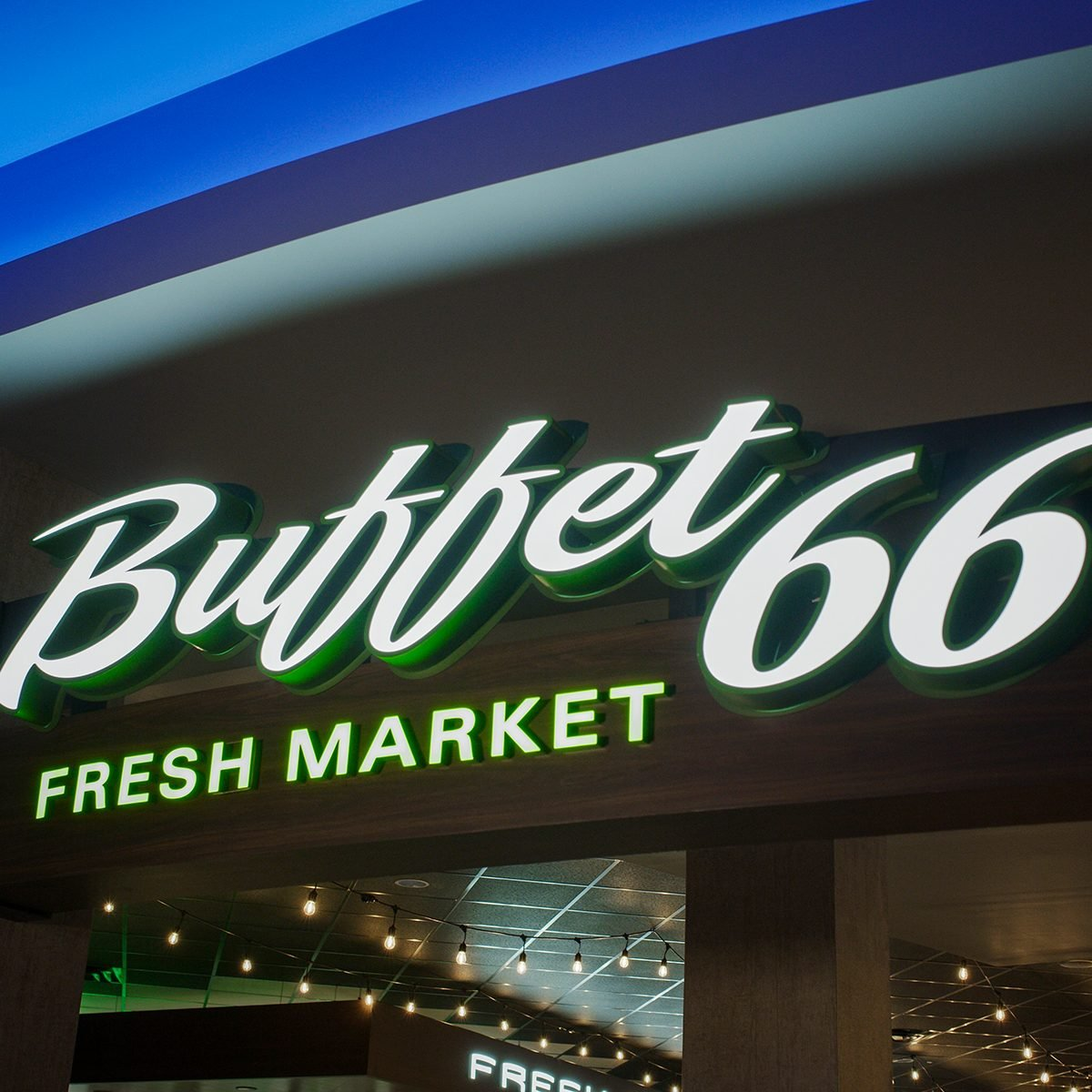 New Mexico: Buffet 66 Fresh Market, Rio Puerco
