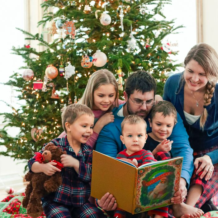 """The Christmas tradition of reading """"The Night Before Christmas"""" is alive and well in our home."""