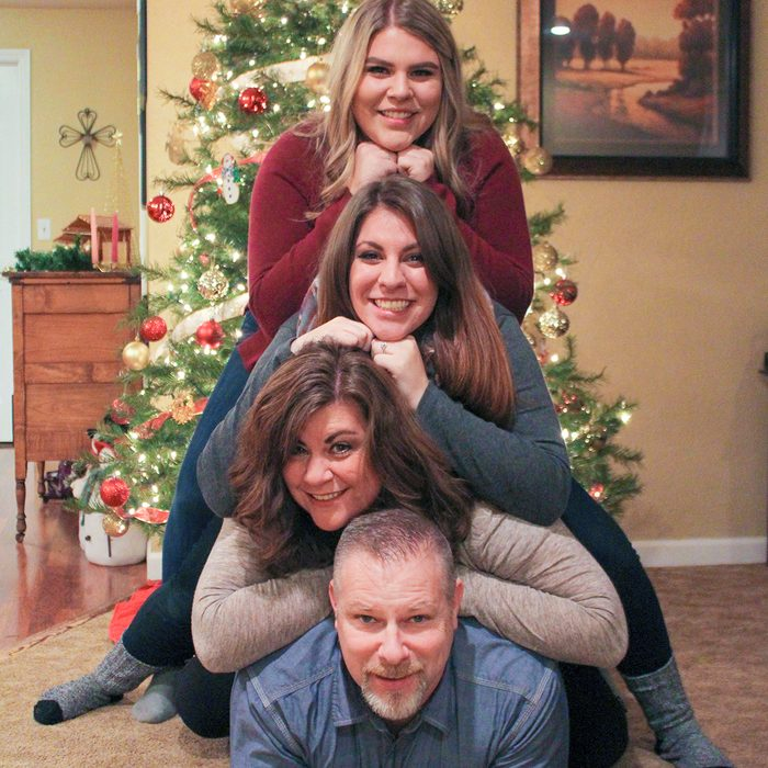 Our family is a fun loving group; commonly known as the 4wheelers. This is our last Christmas picture as the 4 Wheelers; as our oldest daughter will be getting married in August of 2017.