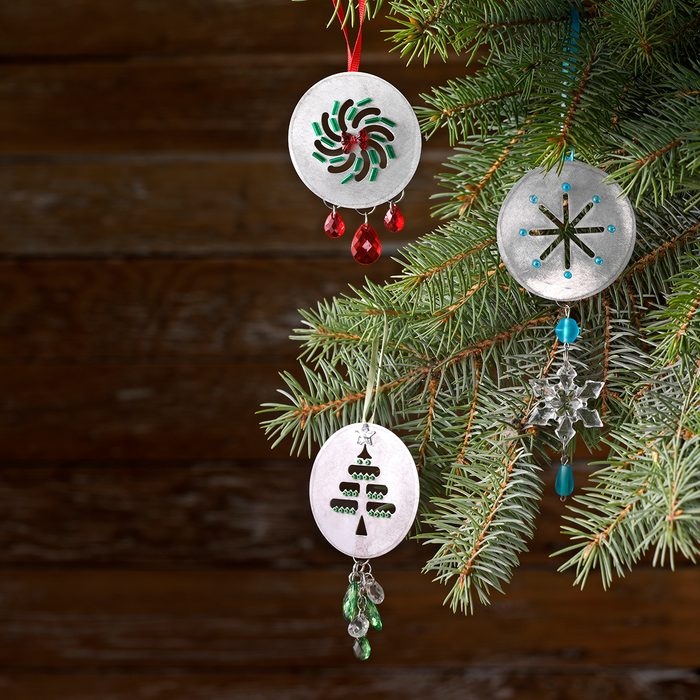 Cookie Disc Ornaments