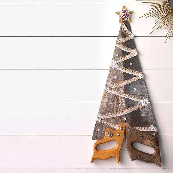 handsaw christmas tree