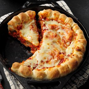 Cast-Iron Pizza Pie