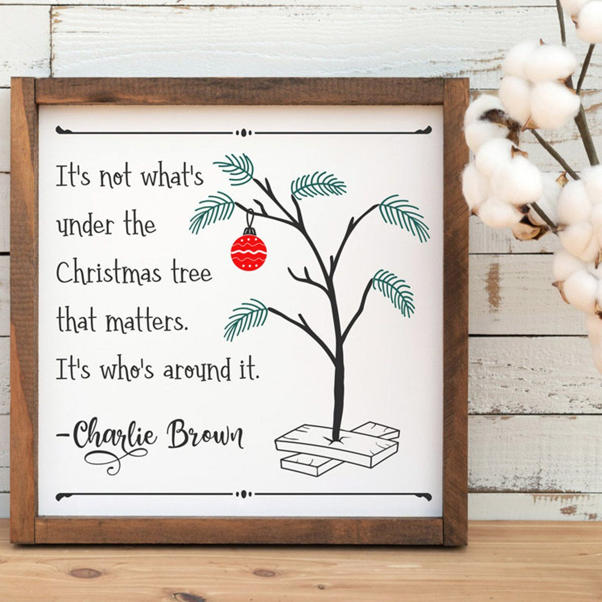 Charlie Brown Christmas Party, quote