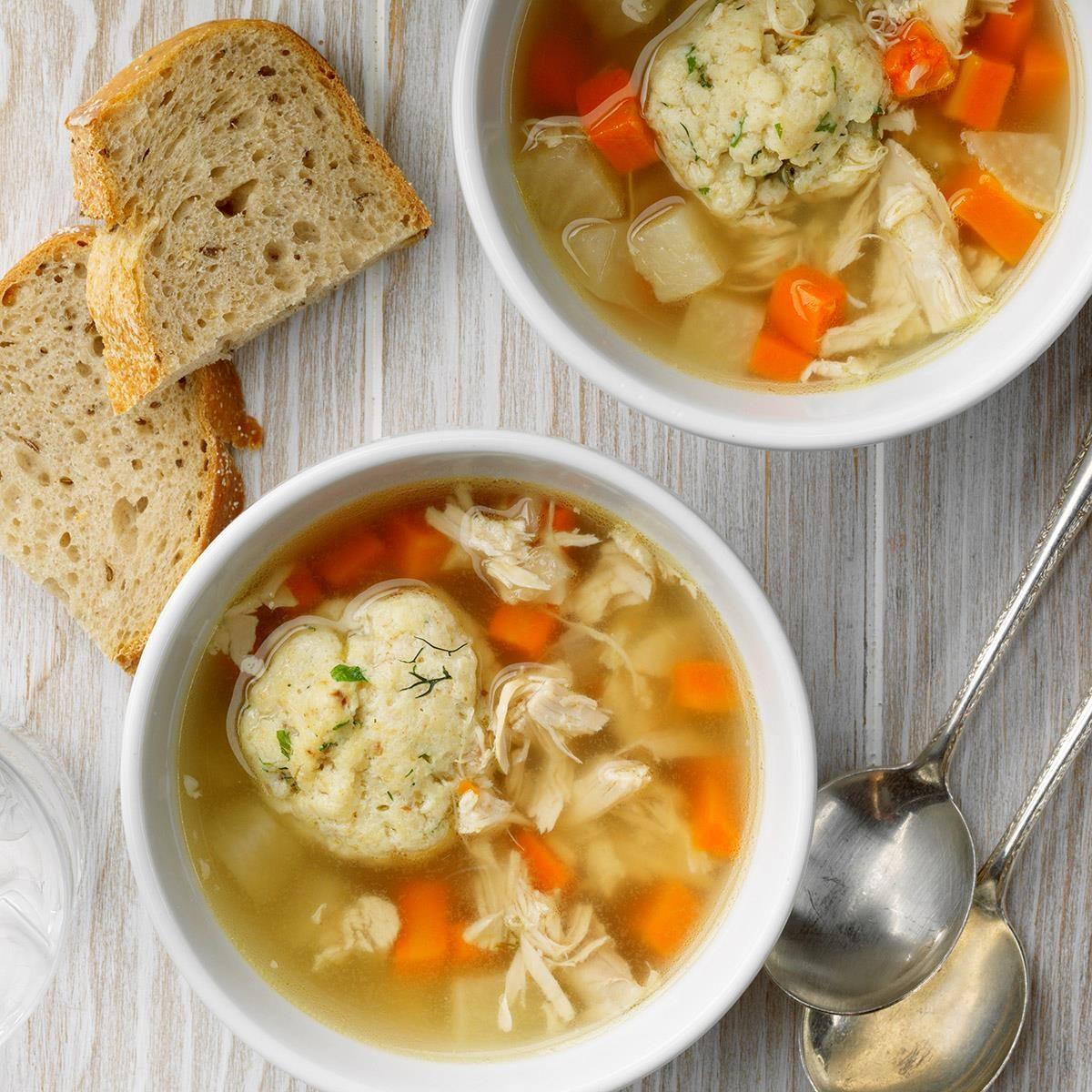 New Jersey: Chicken Matzo Ball Soup
