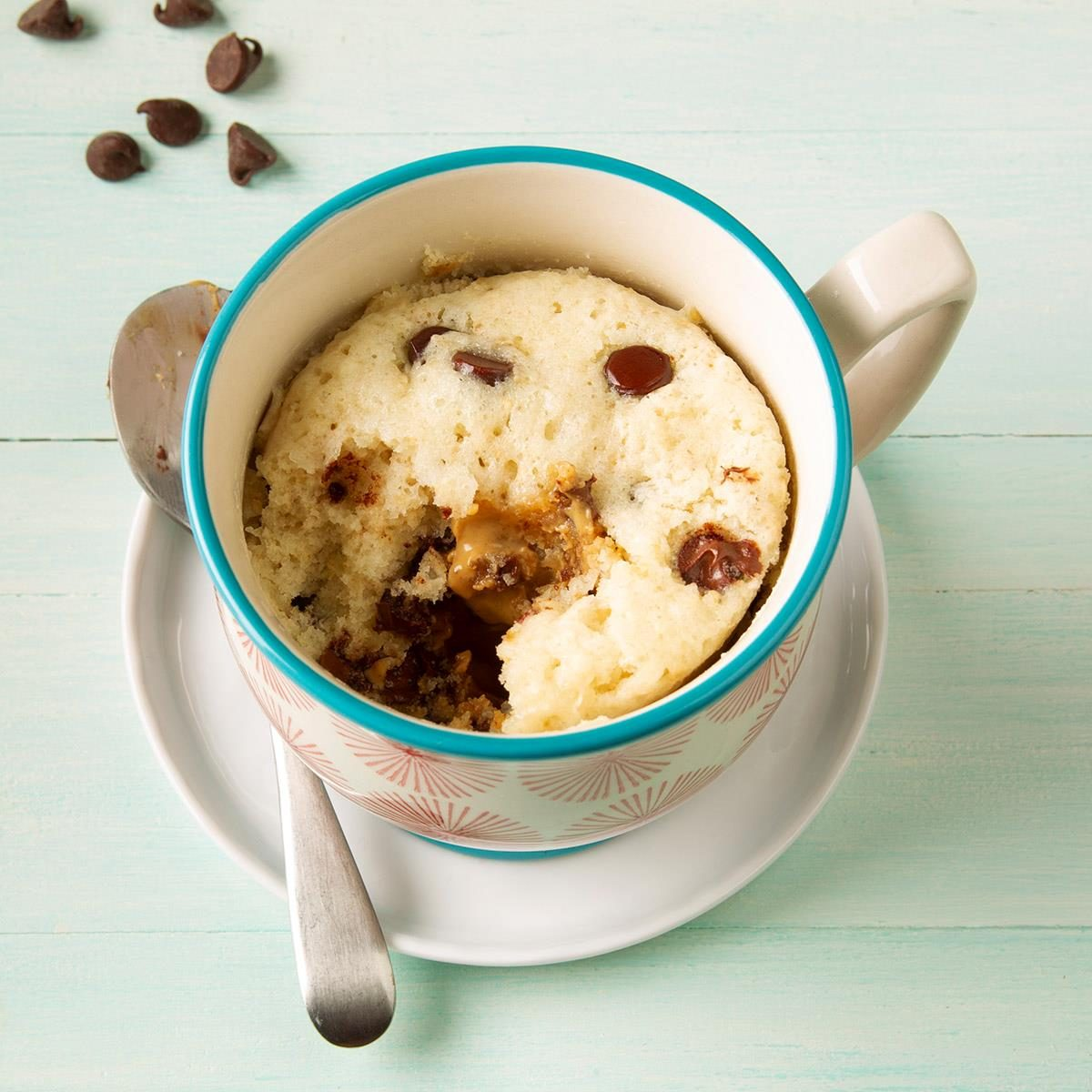 Chocolate Peanut Butter Mug Cake Recipe