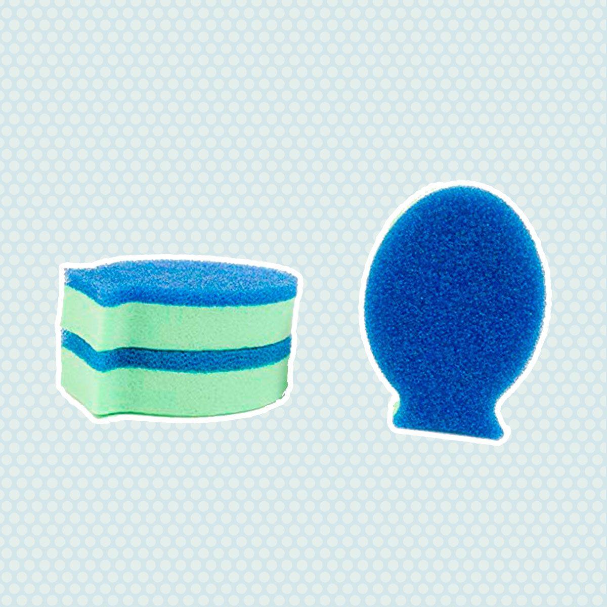 DishFish Dual Scrubber Sponge