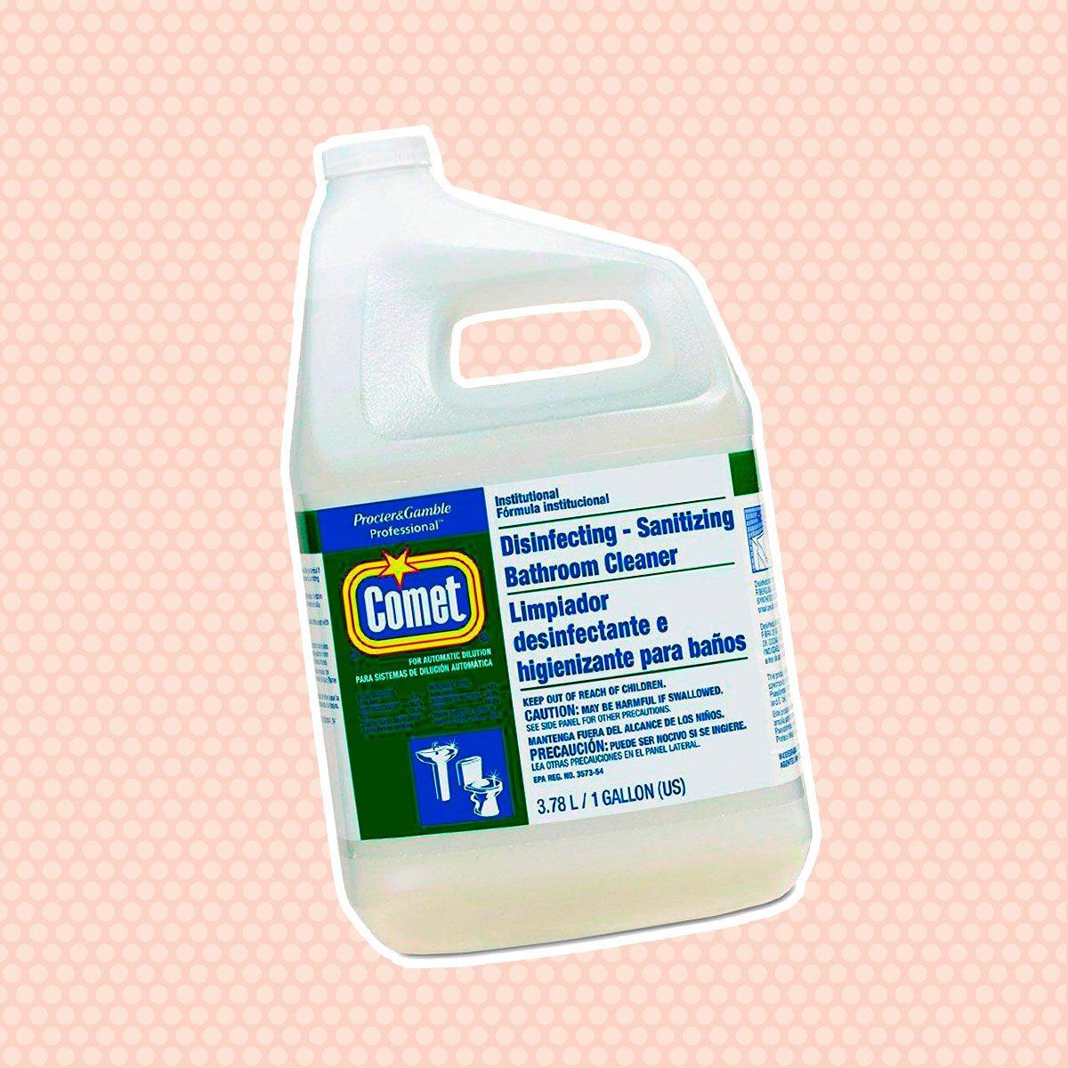 Comet 22570EA Disinfecting-Sanitizing Bathroom Cleaner, One Gallon Bottle