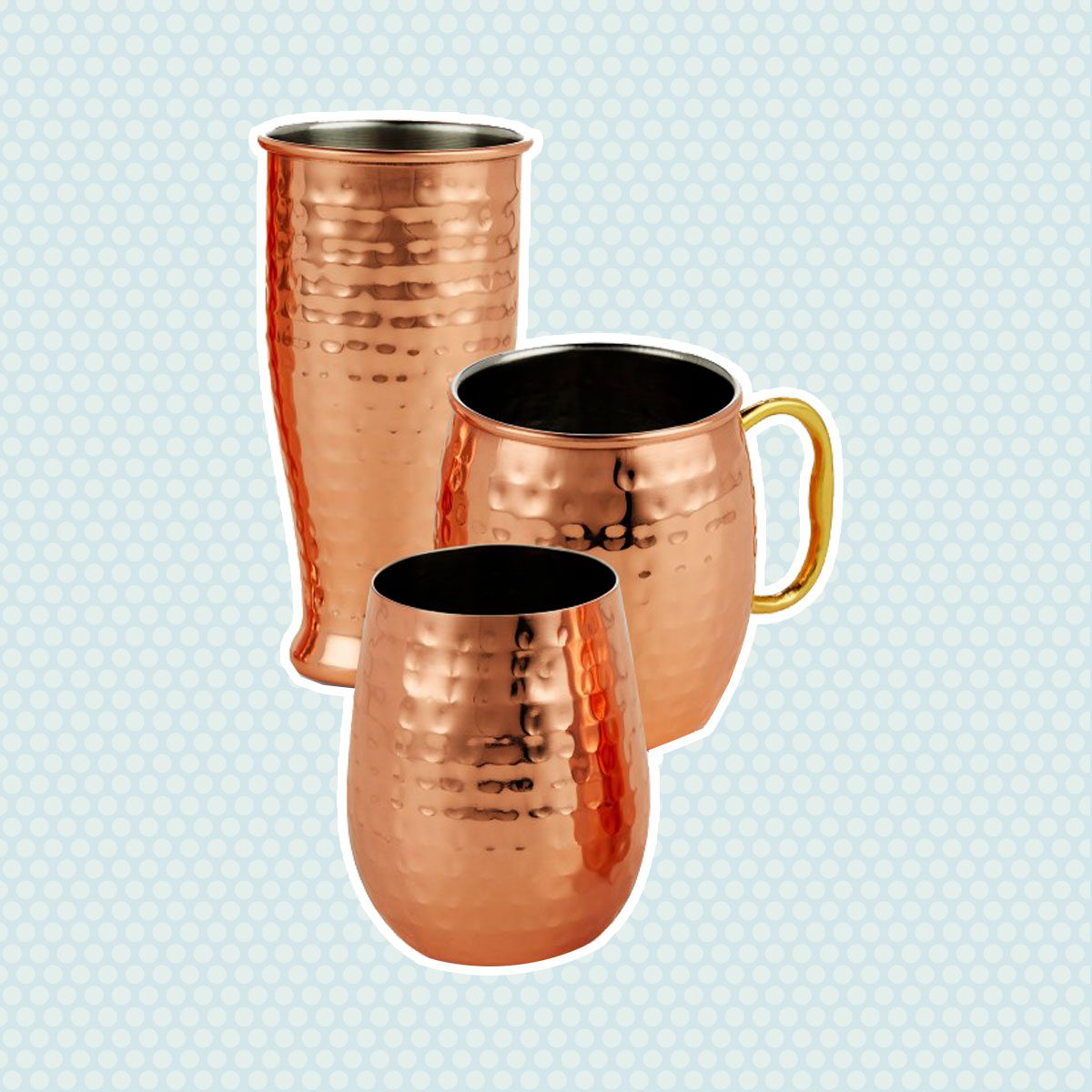 Crofton Moscow Mule, Wine Glass or Tumbler Set