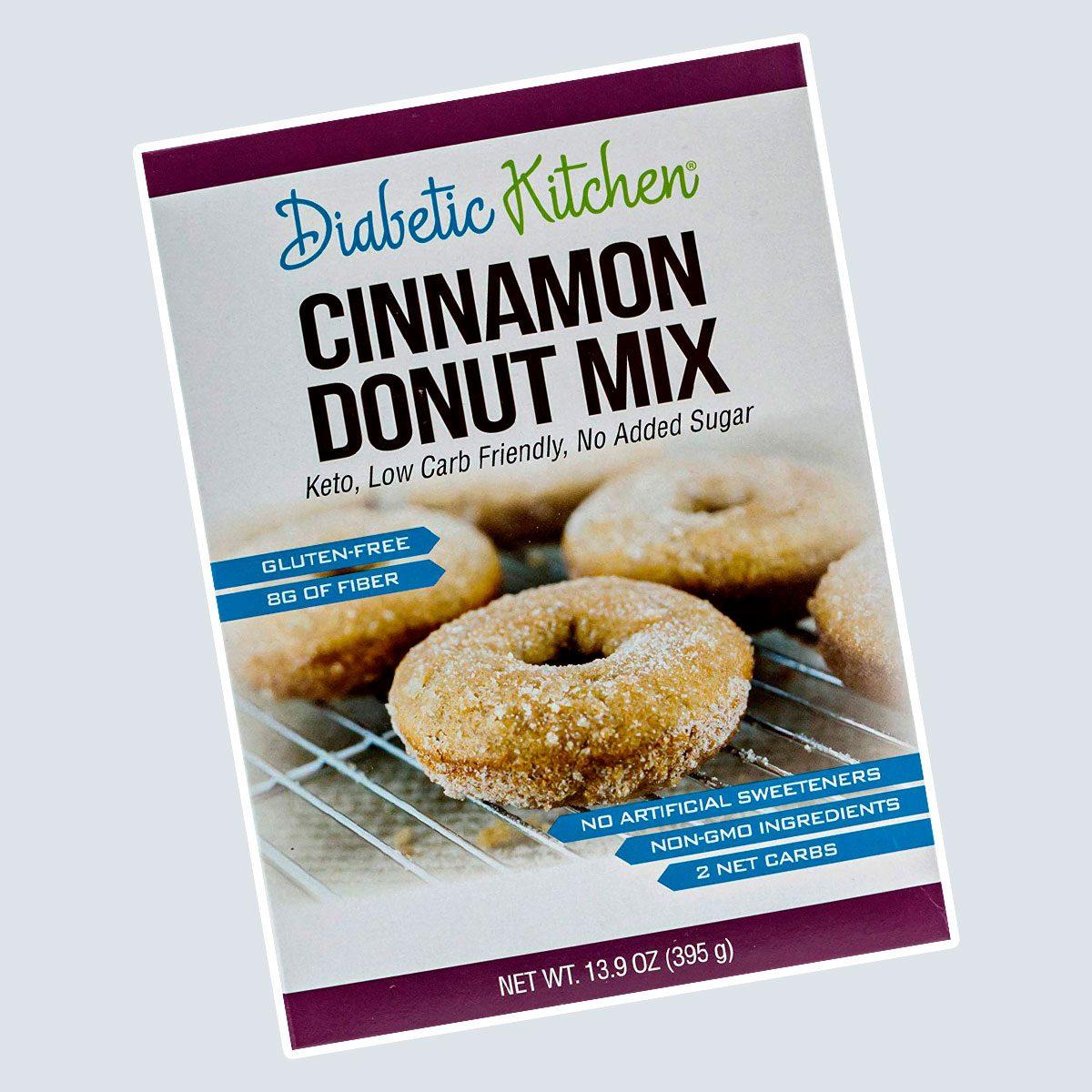 Diabetic Kitchen Cinnamon Donut Mix