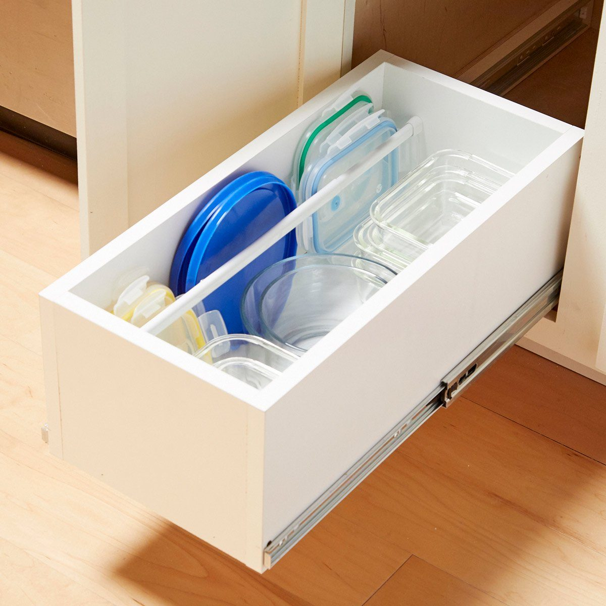 This Genius Idea Will Keep Your Food Storage Containers Organized for Good