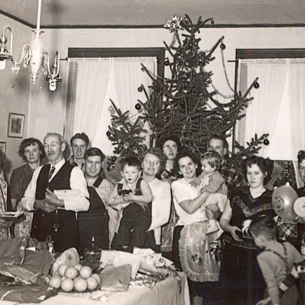 christmas family gathering